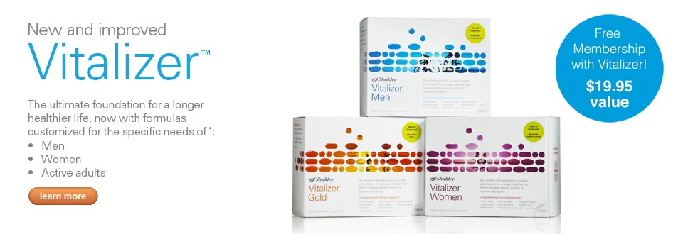 Shaklee Vitalizer Multivitamins