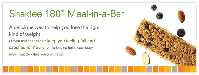 Shaklee180 Meal in a Bar