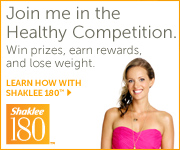 I'm losing weight with Shaklee
