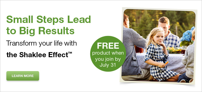Transform your life with the Shaklee Effect