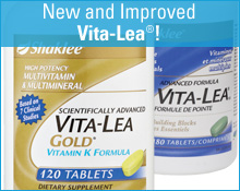 New and improved Shaklee Vita-Lea