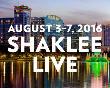 Shaklee Live 2016