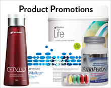 Shaklee product specials and limited time offers