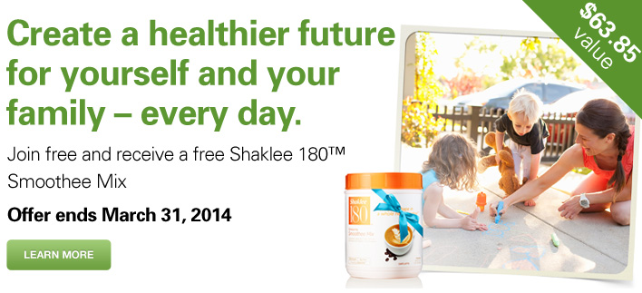 Shaklee Join Promotion