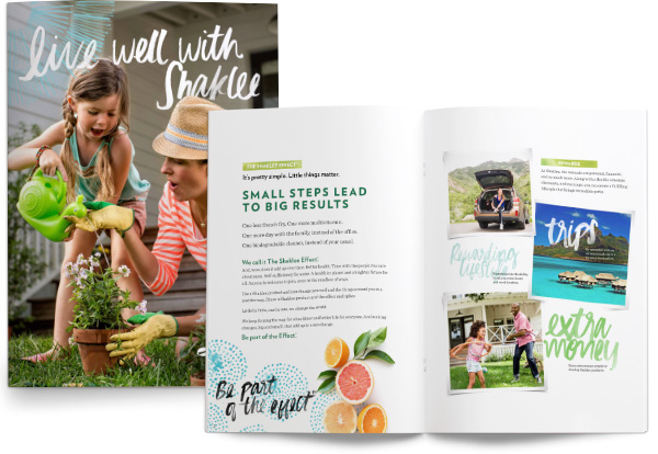 Shaklee Live Well Brochure