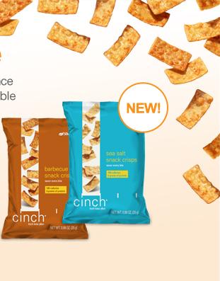 New Shaklee Cinch Crisps