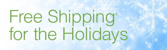 Header Product Free Shipping for the Holidays Now Through November 18, 2012