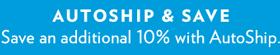 Save 10% on Autoship
