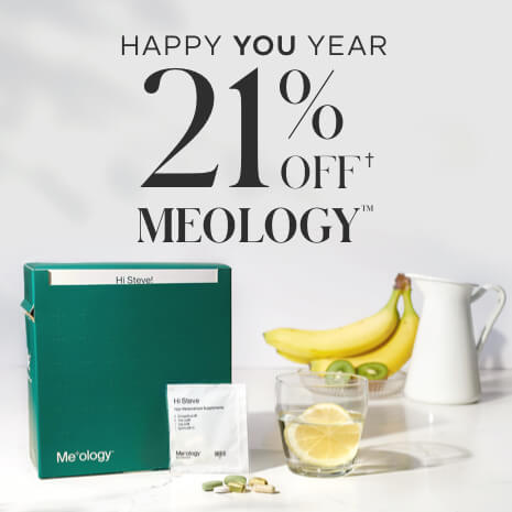 21% Off Meology