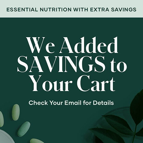 Essential Nutrition with Extra Savings