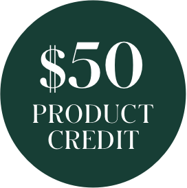 $50 product credit