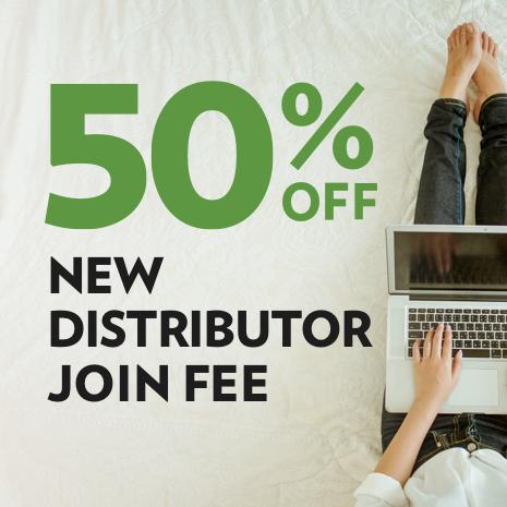50% off Shaklee Distributor Join fee