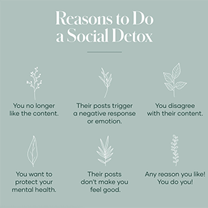 Reasons to Social detox