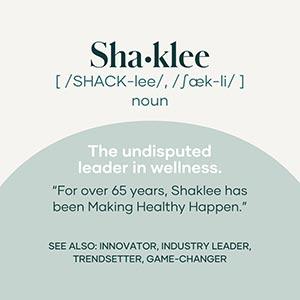 Shaklee is the leader in wellness