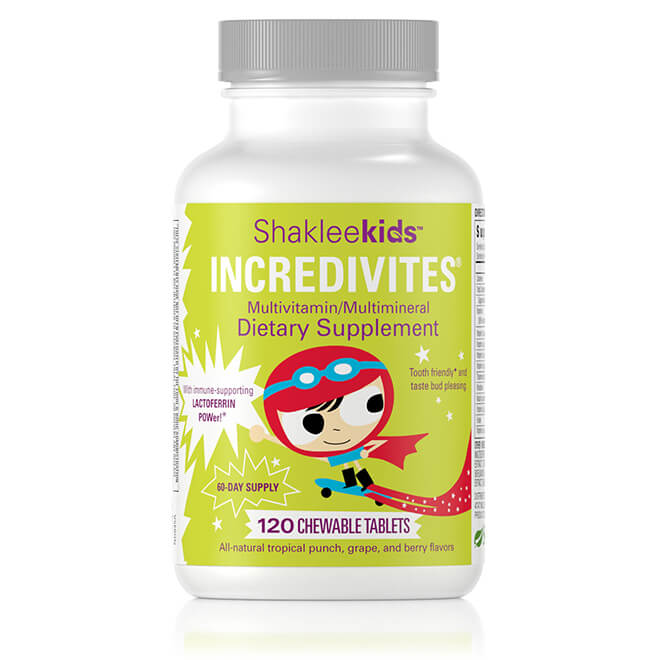 Shakleekids™ Incredivites®, 120ct Chewable