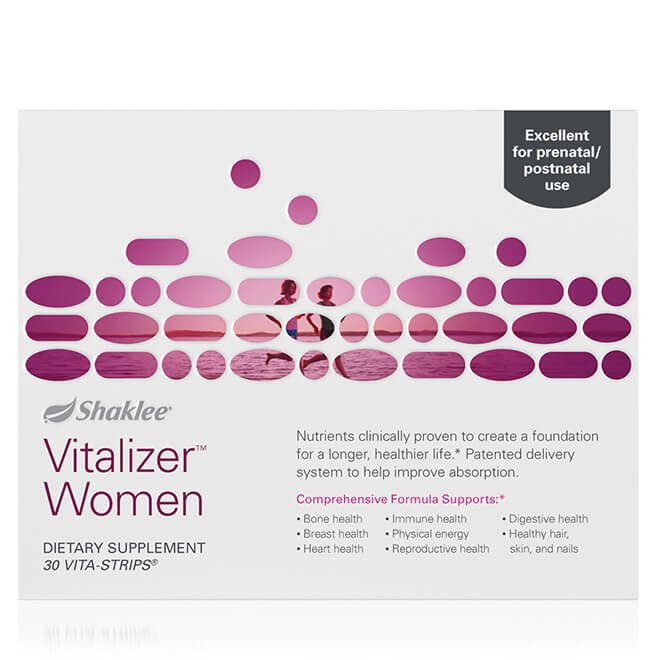 Vitalizer Women front of box
