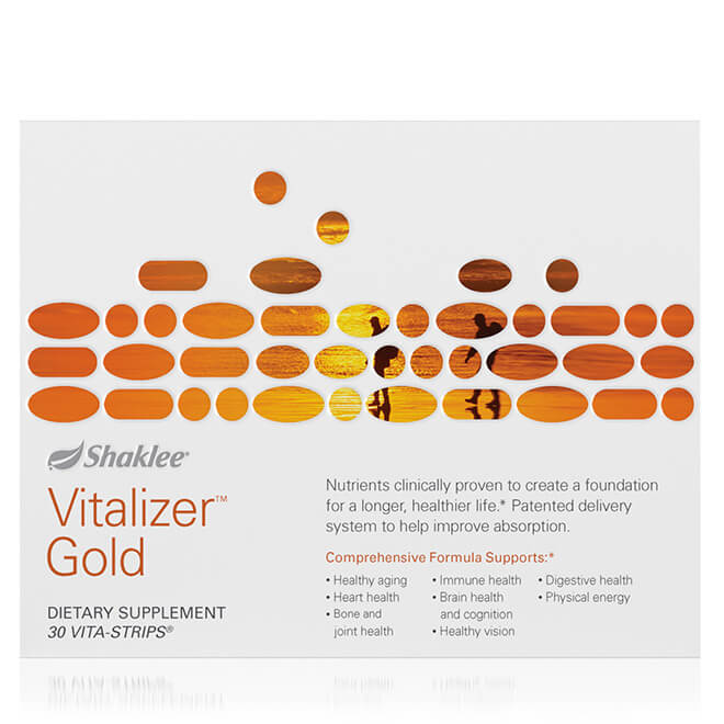 Vitalizer Gold box