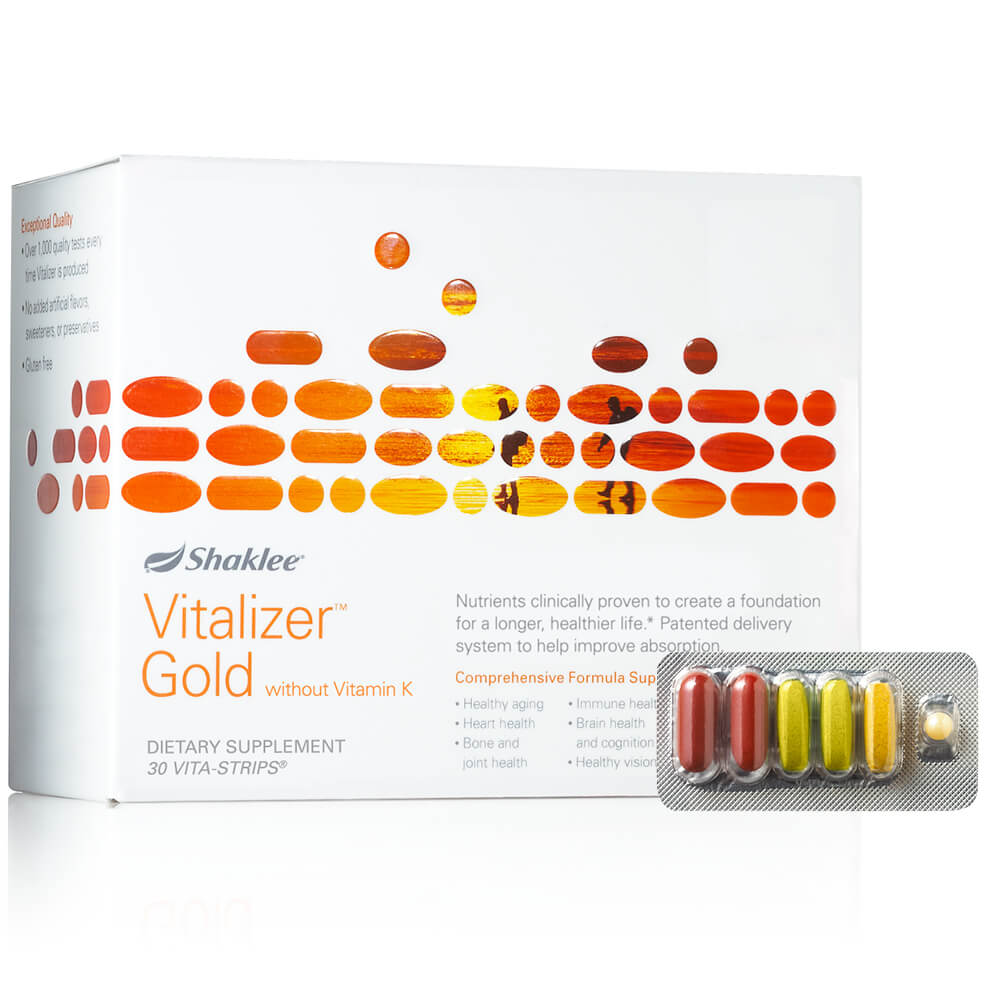 Vitalizer™ Gold without Vitamin K