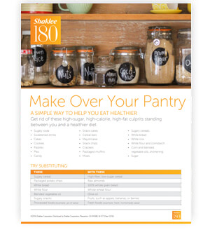 Shaklee 180 pantry makeover