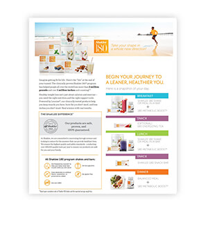 Shaklee 180 Product information sheet