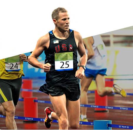 Shaklee Athlete Eli Bremer running