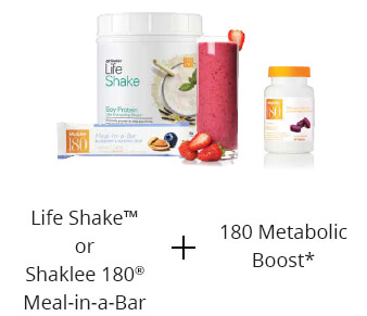 Shaklee 180 breakfast life shake and boost