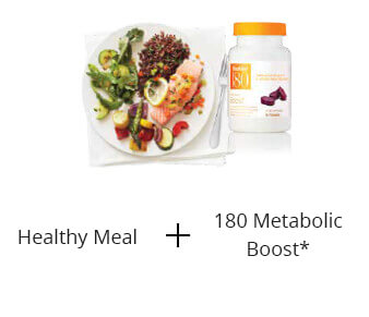 Shaklee 180 healthy dinner and metabolic boost