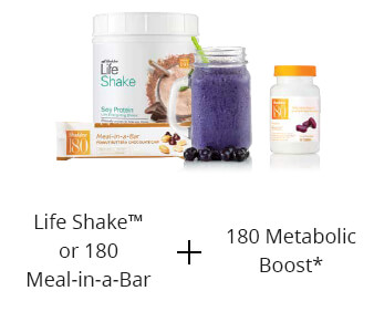 Shaklee 180 lunch life shake and boost