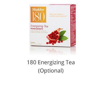 Shaklee 180 energizing tea after breakfast