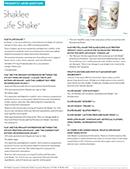 Shaklee Life Shake faqs