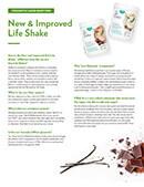 Shaklee New and Improved Life Shake FAQ