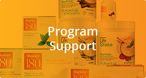 Shaklee 180 program support