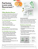 Healthy Cleanse Product Sheet