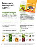 Shakleekids Incredivites Product Sheet