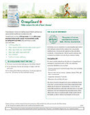 Shaklee OmegaGuard product sheet