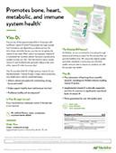 Vita D3 product sheet